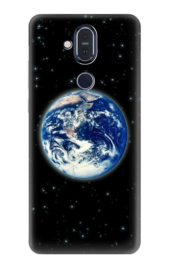Printed Earth Planet Space Star nebula Nokia 8.1, Nokia X7 Case