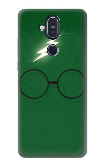 Printed Harry Potter Minimalist Nokia 8.1, Nokia X7 Case