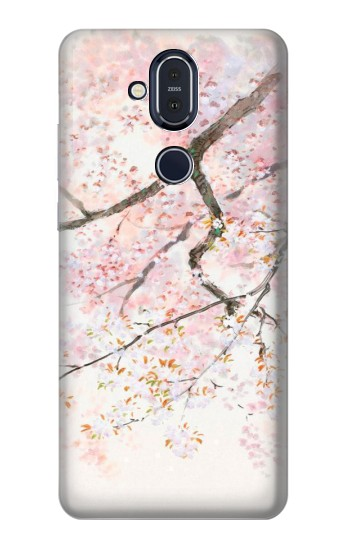 Printed Tale Of The Princess Kaguya Sakura Nokia 8.1, Nokia X7 Case