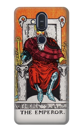 Printed Tarot Card The Emperor Nokia 8.1, Nokia X7 Case