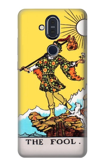 Printed Tarot Card The Fool Nokia 8.1, Nokia X7 Case