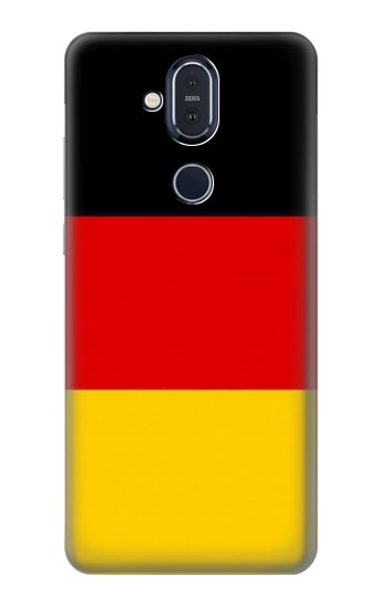 Printed Flag of Germany Nokia 8.1, Nokia X7 Case