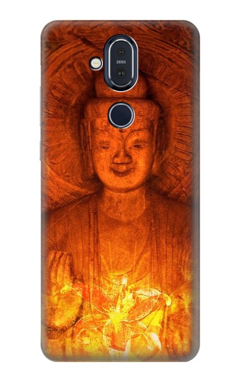 Printed Buddha Spiritual Holy Lights Nokia 8.1, Nokia X7 Case