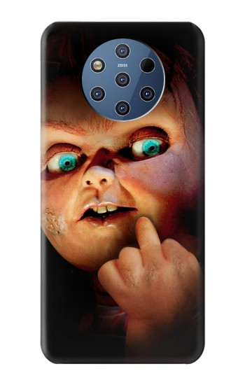Printed Chucky Middle Finger Nokia 9 PureView Case