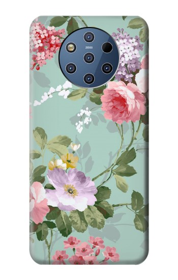 Printed Flower Floral Art Painting Nokia 9 PureView Case