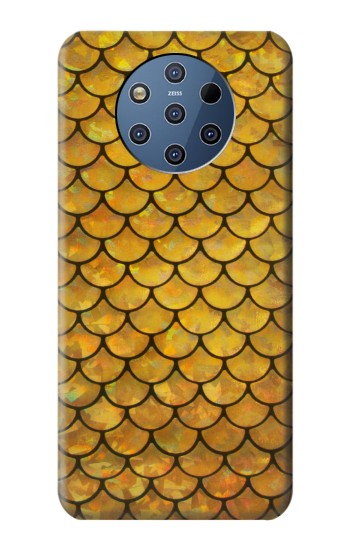 Printed Gold Fish Scale Nokia 9 PureView Case