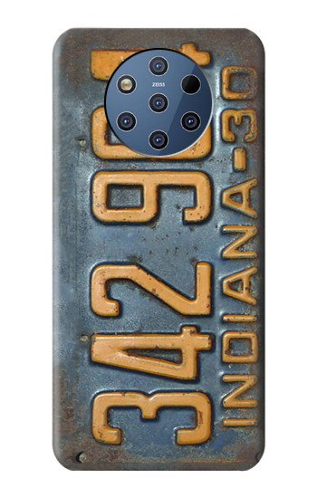 Printed Vintage Vehicle Registration Plate Nokia 9 PureView Case
