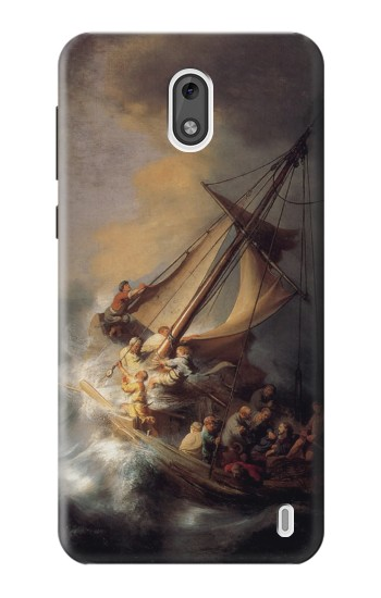 Printed Rembrandt Christ in The Storm Nokia 2 Case