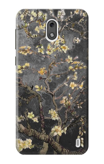 Printed Black Blossoming Almond Tree Van Gogh Nokia 2 Case