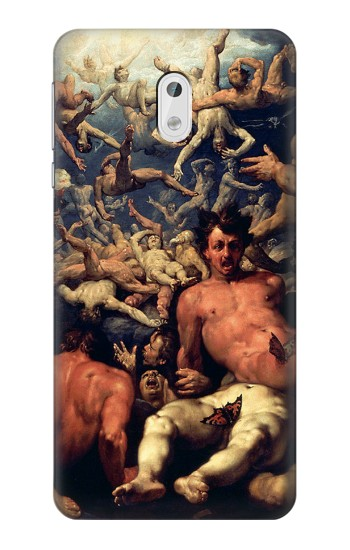 Printed The Fall of Lucifer HTC Desire 500 Case