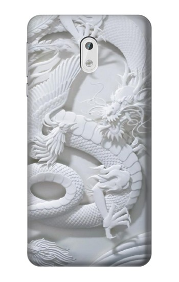 Printed Dragon Carving HTC Desire 500 Case