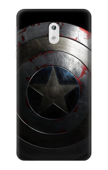 Printed Captain Shield HTC Desire 500 Case