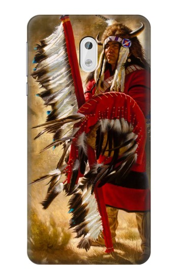 Printed Red Indian HTC Desire 500 Case