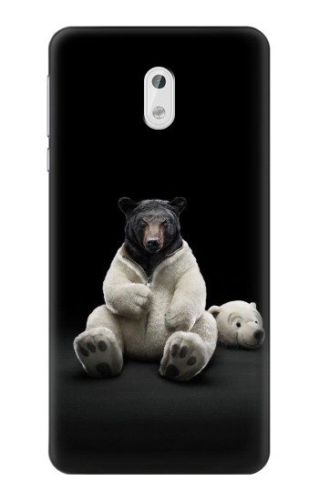 Printed Black Bear HTC Desire 500 Case