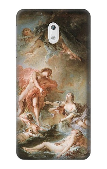 Printed Francois Boucher The Setting of the Sun HTC Desire 500 Case