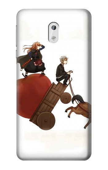 Printed Spice and Wolf Horo Lawrence HTC Desire 500 Case