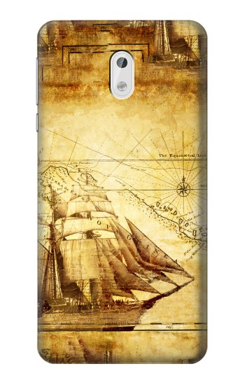 Printed Frigate Old Ship HTC Desire 500 Case
