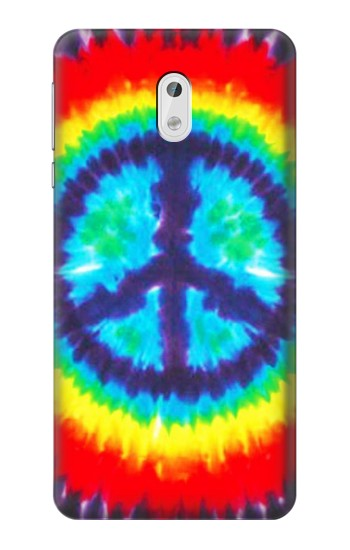 Printed Tie Dye Peace HTC Desire 500 Case