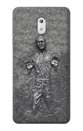 Printed Han Solo in Carbonite HTC Desire 500 Case