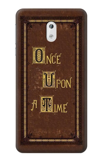 Printed Once Upon a Time Book Cover HTC Desire 500 Case