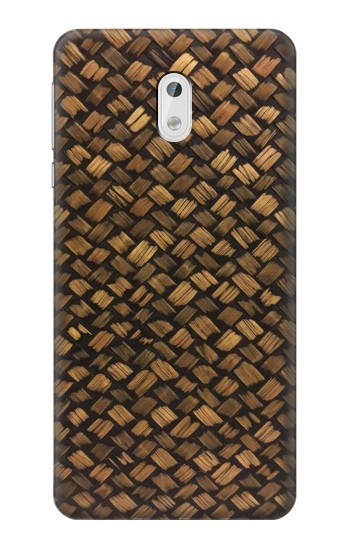 Printed Thai Bamboo Wickerwork HTC Desire 500 Case