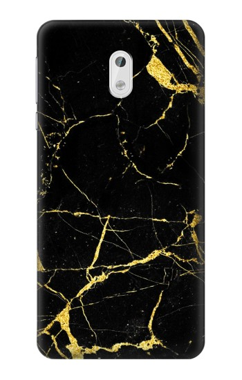 Printed Gold Marble Graphic Printed HTC Desire 500 Case