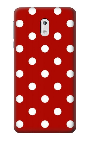 Printed Red Polka Dots HTC Desire 500 Case