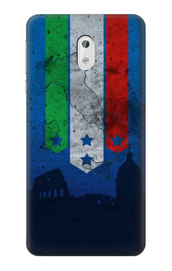 Printed Italy Football Flag HTC Desire 500 Case