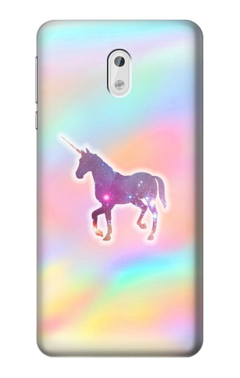 Printed Rainbow Unicorn HTC Desire 500 Case