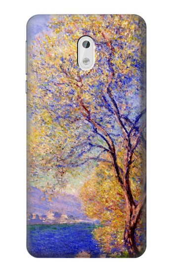 Printed Claude Monet Antibes Seen from the Salis Gardens HTC Desire 500 Case