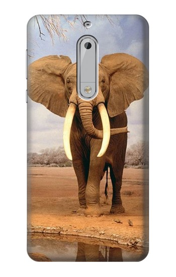 Printed African Elephant HTC Desire 510 Case
