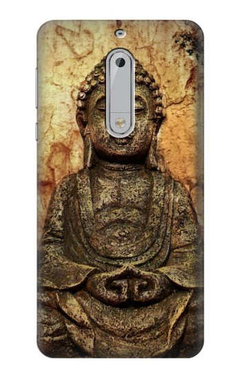 Printed Buddha Rock Carving HTC Desire 510 Case