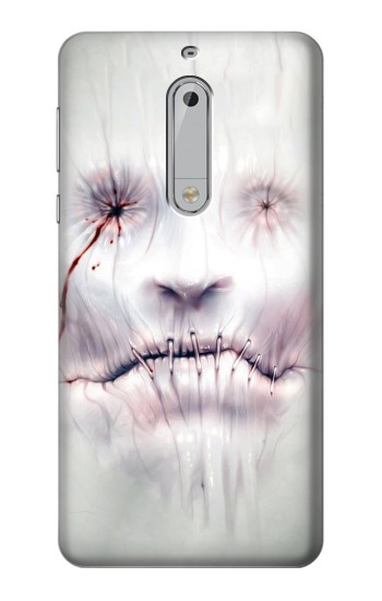 Printed Horror Face HTC Desire 510 Case