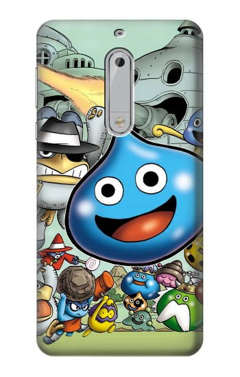 Printed Dragon Quest Slime Monster HTC Desire 510 Case