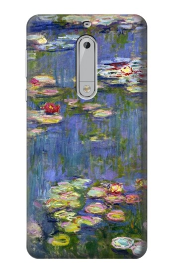 Printed Claude Monet Water Lilies HTC Desire 510 Case