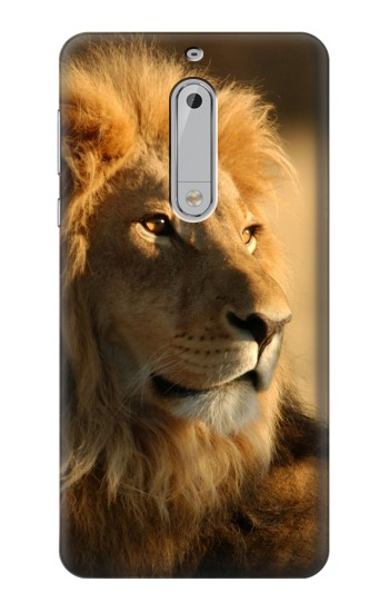 Printed Lion King of Forest HTC Desire 510 Case