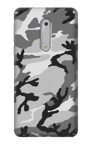 Printed Snow Camo Camouflage Graphic Printed HTC Desire 510 Case