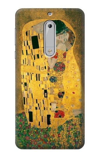Printed Gustav Klimt The Kiss HTC Desire 510 Case