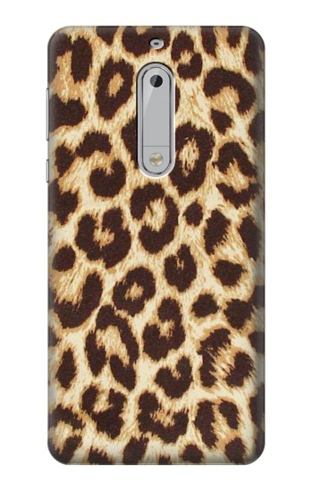 Printed Leopard Pattern Graphic Printed HTC Desire 510 Case