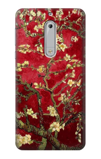Printed Red Blossoming Almond Tree Van Gogh HTC Desire 510 Case