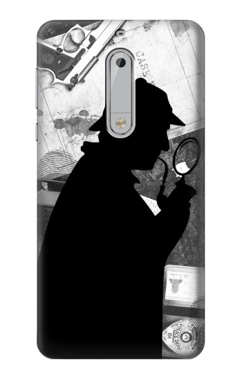 Printed Detective Sherlock Holmes HTC Desire 510 Case