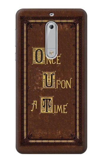 Printed Once Upon a Time Book Cover HTC Desire 510 Case