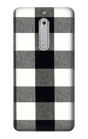 Printed Black and White Buffalo Check Pattern HTC Desire 510 Case