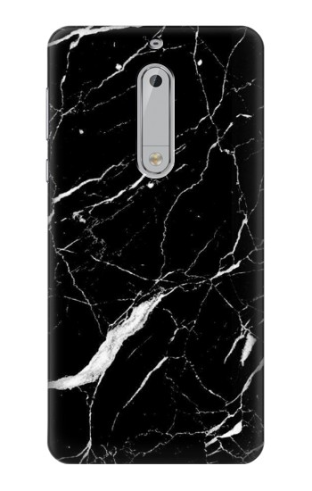 Printed Black Marble Graphic Printed HTC Desire 510 Case