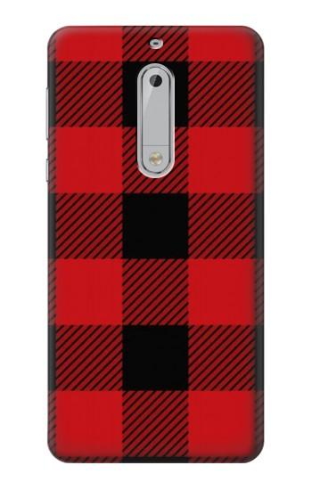Printed Red Buffalo Check Pattern HTC Desire 510 Case