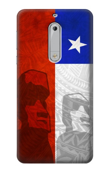 Printed Chile Polynesian Flag HTC Desire 510 Case