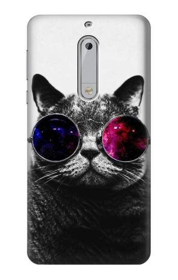 Printed Cool Cat Glasses HTC Desire 510 Case
