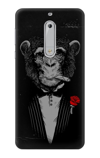 Printed Funny Monkey God Father HTC Desire 510 Case