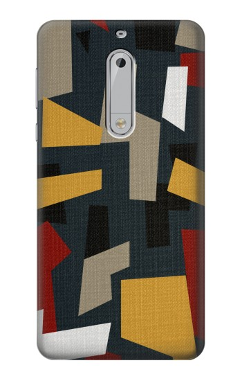 Printed Abstract Fabric Texture HTC Desire 510 Case