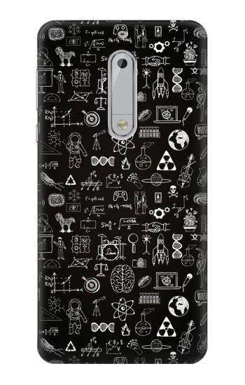 Printed Blackboard Science HTC Desire 510 Case